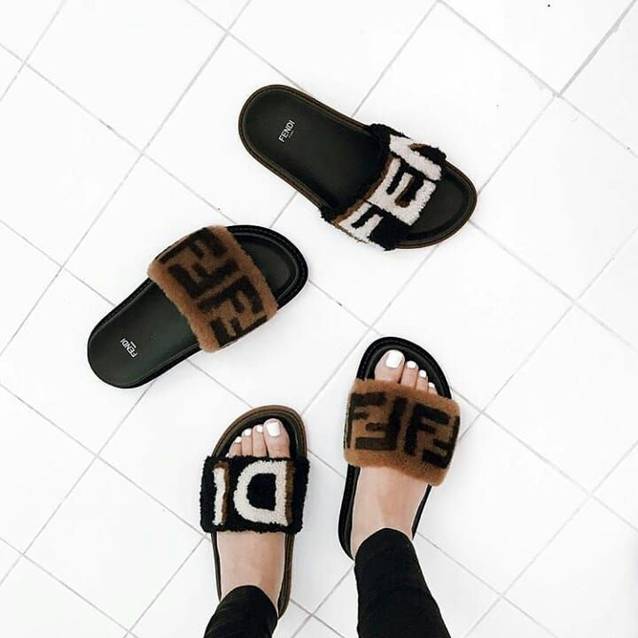 Yay or Nay? fendi slides flipflops gucci louisvuitton