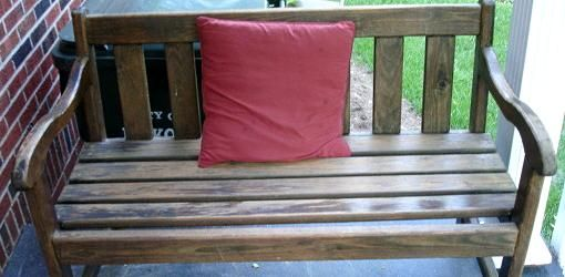 how to refinish wood furniture for use outdoors