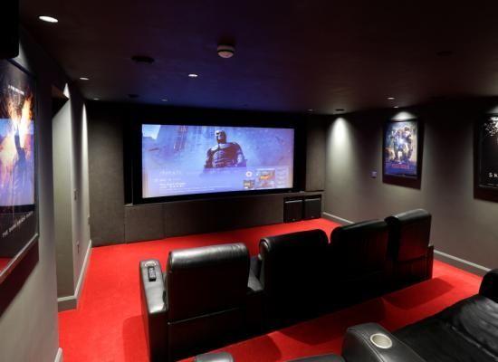 Znalezione Obrazy Dla Zapytania Home Cinema Room Kino
