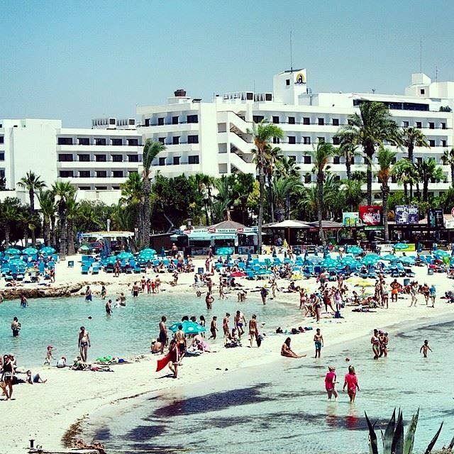 Nissi Beach Ayia Napa Cyprus