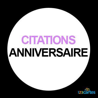 Citation Anniversaire 60 Ans