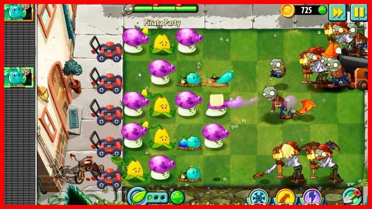 Видео Игры Растения Против Зомби Прохождение