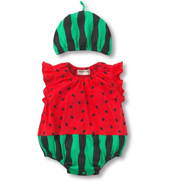 JP66084 Summer 2015 Baby Clothes Strawberry Bee Watermelon Cow Ladybug Baby Boys Girls Sleeveless Romper Infant Fruit Costume-in Rompers from Mother & Kids on Aliexpress.com | Alibaba Group