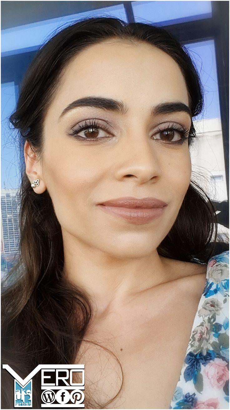 Sun-kissed glow makeup
