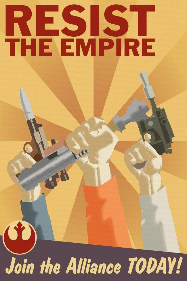 Juxtapoz Magazine - Star Wars Propaganda Posters | Current