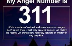 Angel Number 311 and its Meaning