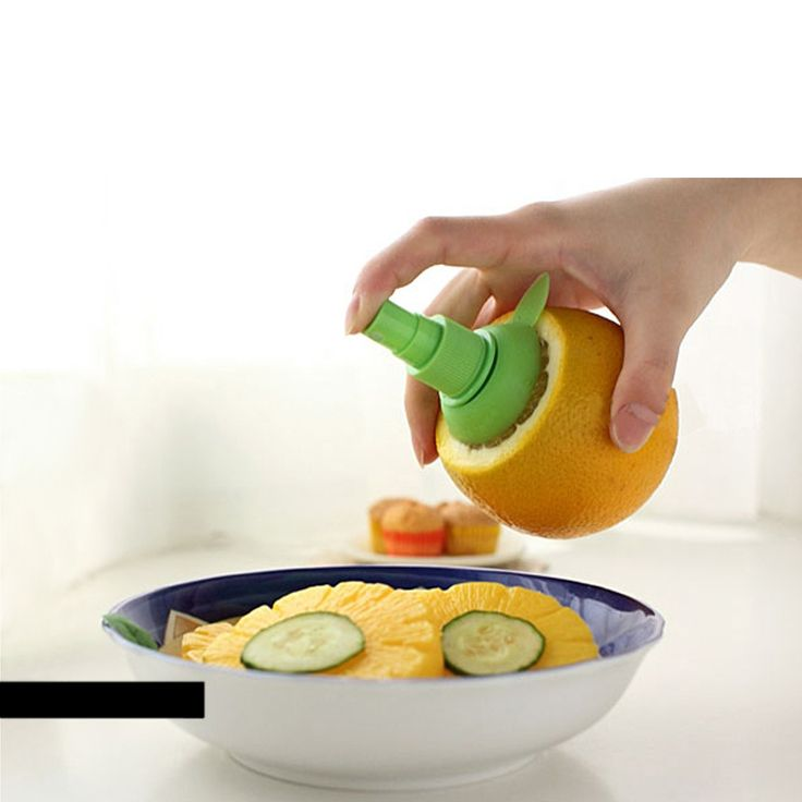 New Arrival Home Kitchen Lemon Juice Sprayer Fruit Citrus Spray Mini Squeezer Hand Juicer Cooking Tool Supplies -in Squeezers & Reamers from Home & Garden on Aliexpress.com | Alibaba Group