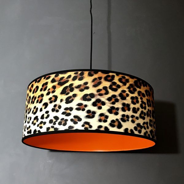 Graffiti Red and Black Wallpaper LAMPSHADE..Handmade.