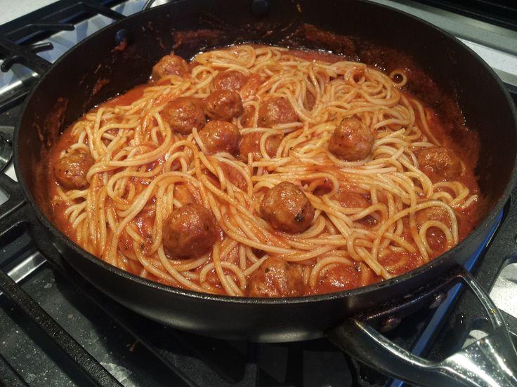 Spaghetti & Meatballs - by Matthew Hopcraft