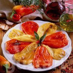 Lajos Mari konyhája - Erdélyi sültpaprika- saláta