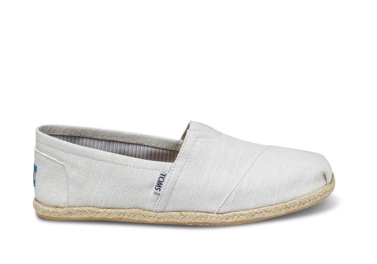 White Linen Men's Classics | TOMS $54