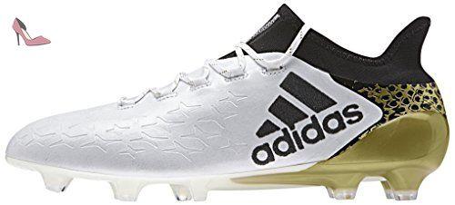 adidas X 16.1 FG, Chaussures de Foot Homme, Blanc Cassé-Blanco (Ftwbla / Negbas / Dormet), 45 1/3 EU - Chaussures adidas (*Partner-Link)