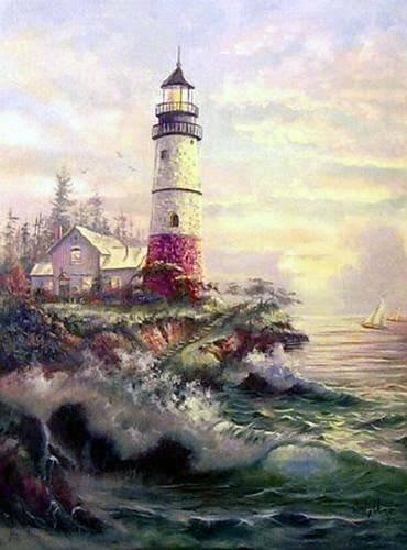 Seascape Canvas Oil Painting