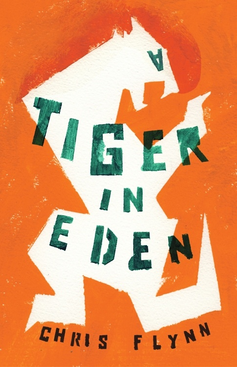 The cover of Chris Flynn's debut novel as designed by W.H. Chong.