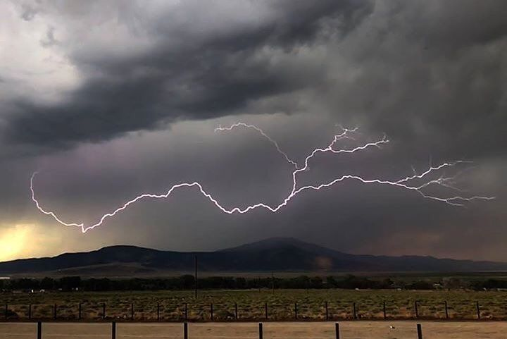 """6,031 Likes, 26 Comments - Bureau of Land Management (@mypubliclands) on Instagram: """"A severe lightning storm east of Reno, Nevada shows the power of nature. Every year hundreds of…"""""""