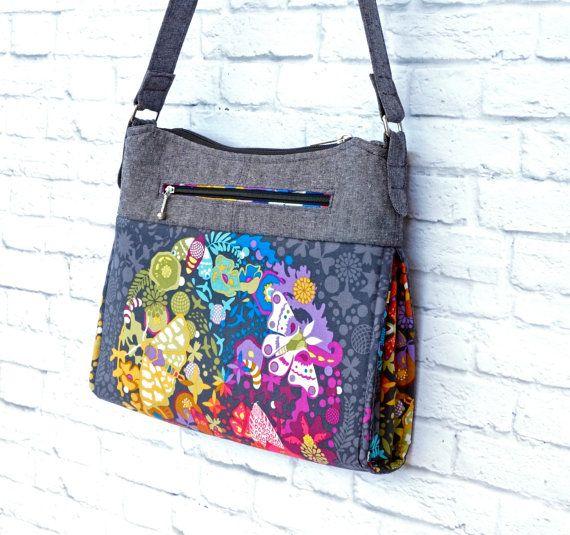 Le Gabby Bag un amusant sac à bandoulière à par EmmalineBags