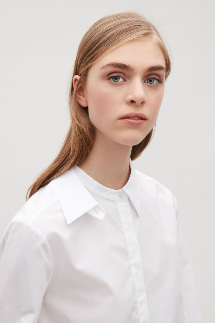 COS stores white shirt collar