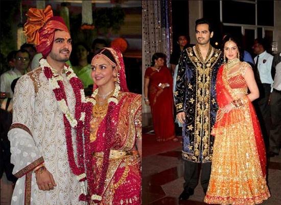 Esha Deol Wedding Pictures, Reception Album and Exclusive Marriage photos