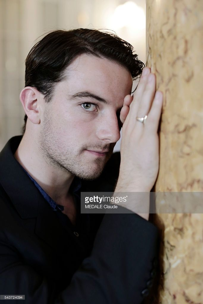 Kevin Guthrie actor in the movie Sunset Song at the 63th International Film Festival of San Sebastian
