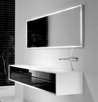 really like the simplicity of the vanity and mirror by rogerseller