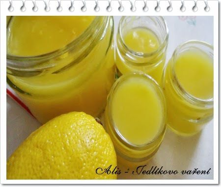 Citronová pomazánka - Lemon curd - http://www.mytaste.cz/r/citronov%C3%A1-pomaz%C3%A1nka---lemon-curd-1438482.html