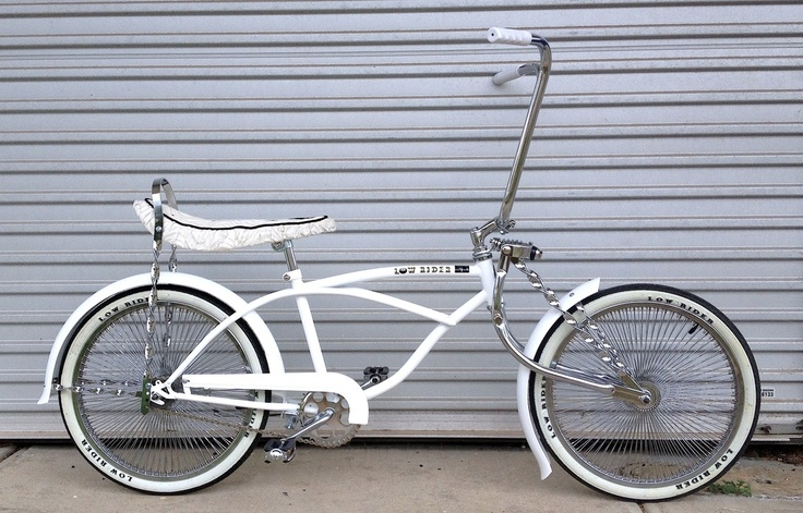 """New 20"""" LOWRIDER Bike - Brand New GLOSS WHITENORMAL RRP - $699Complete Ride away…"""