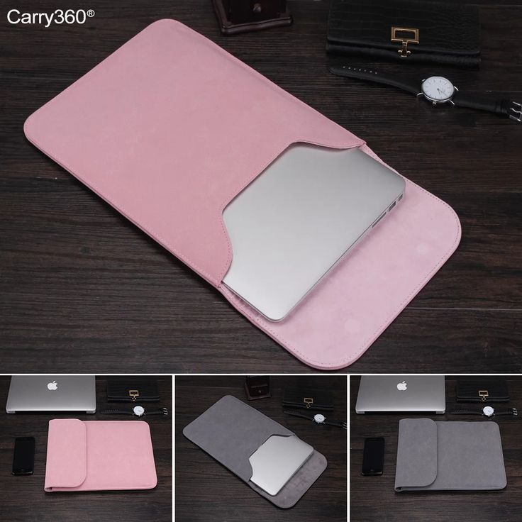Carry360 Soft Velour Laptop Bag Sleeve for Macbook Air 13 Case Cover for Macbook Pro Retina 13 12 15 for Mac book air 13 11 case