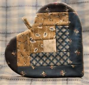 Image Search Results for amish heart hotpad