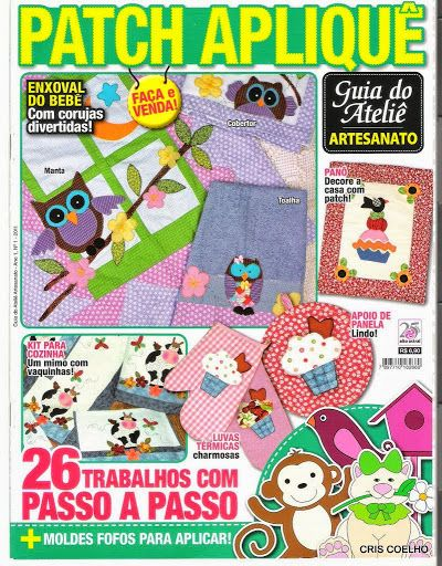 5 guia do ateliê Patch Aplique n. 1 - maria cristina Coelho - Álbuns da web do Picasa