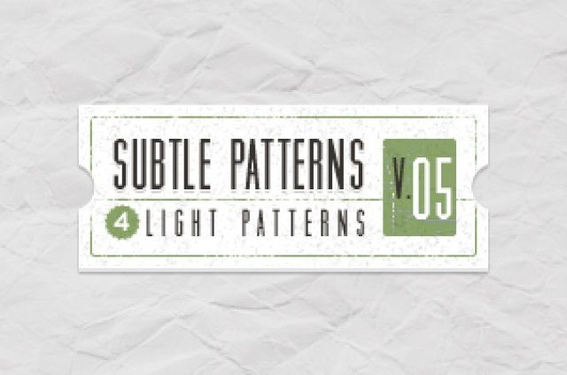 Volume 5 of our subtle light texture patterns background with 4 light tile patterns ideal to create a subtle and original...