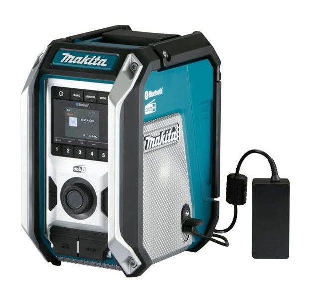 Makita Dmr115 Radio De Chantier 10 8v 18v Fm Dab Et Dab Woofer Ip65 Bluetooth In 2020 Makita
