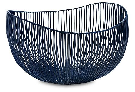Deep Blue Bowl, 8.27″ - From The Home Decor Discovery Community at www.DecoandBloom.com