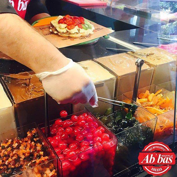 Seç seçebilirsen; ye, lezzetine doyabilirsen! #AbbasWaffleAnkara