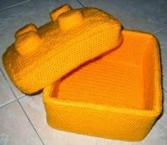 Happiness Crafty: Crochet Lego ~ 10 FREE Patterns