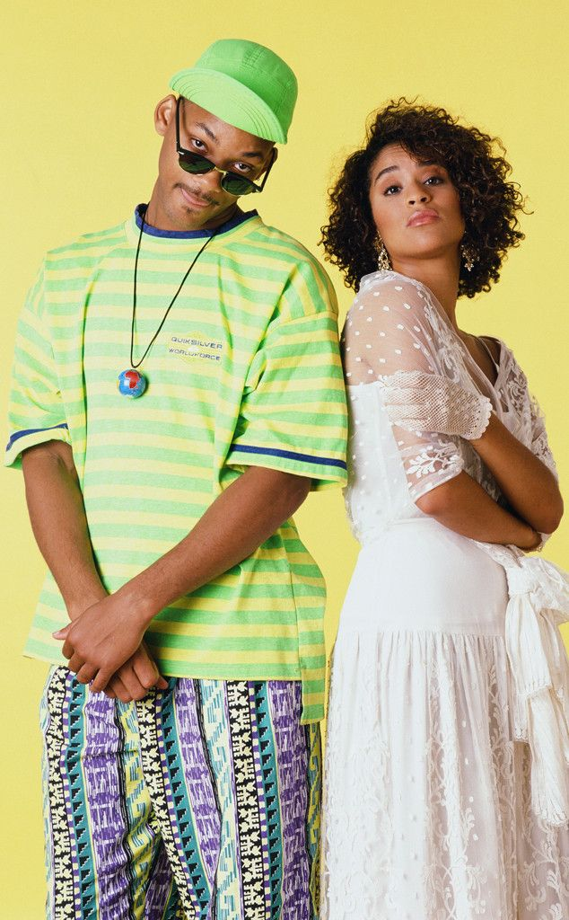 Mix and Match from Will Smith's Craziest Looks on The Fresh-Prince of Bel-Air Another look to show off Will's keen eye for mixing prints. (We'd wear it. Don't judge us.)