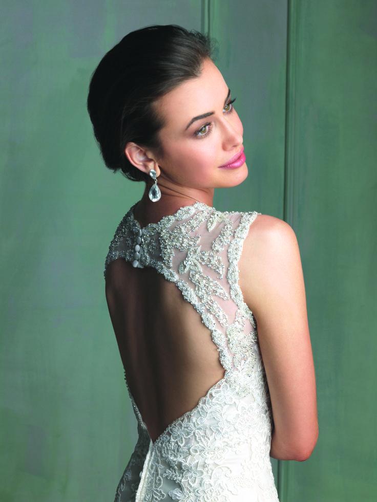 Bridal Gown I Wedding Gown I Wedding Dress I Allure Bridals (9104)