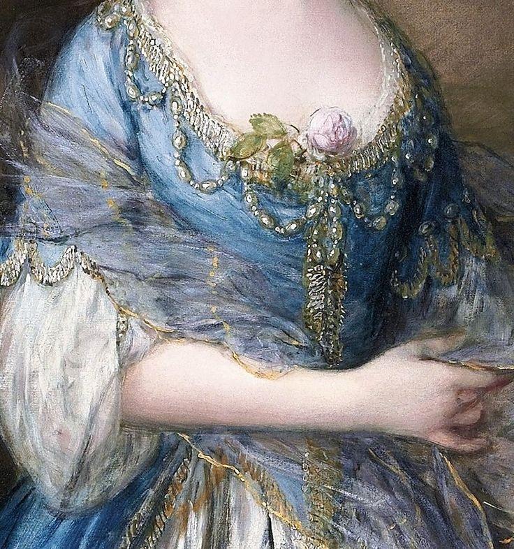 Portrait of Mrs William Villebois by Thomas Gainsborough