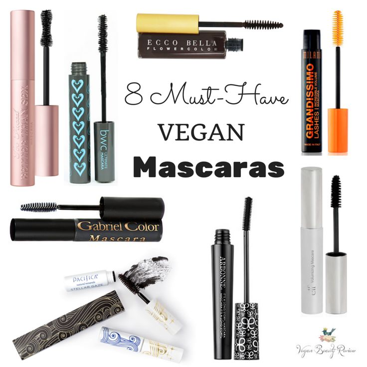 I get asked about vegan & cruelty-free mascaras more than any other type of cosmetics, so I thought I'd share my my top 8! I'd love to know which vegan mascaras are your faves, too. 8 Must-Have Vegan Mascaras Too Faced Better Than Sex Mascara, $23 – OMG, this is the absolute best vegan mascara... Read More >>