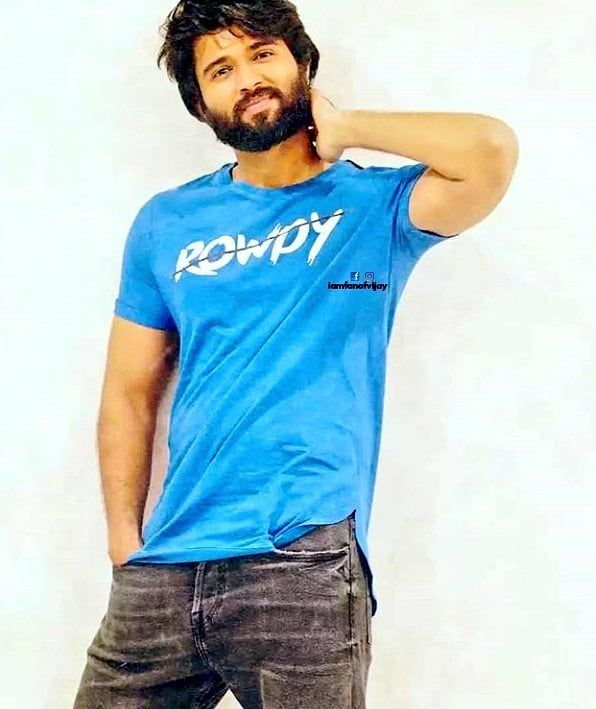 handsome #hunk #youth #iconic #hero #VIJAYDEVERAKONDA #rowdyclub #rowdywear  | Indian bollywood actors, Telugu hero, Vijay actor