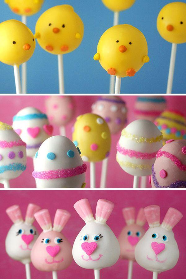 Easter Cake Pops Easter Cake Pops Easter Cakes Easter Dessert