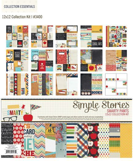 Smarty Pants school collection from Simple Stories.  LOVE the colors and journal cards!  Perfect for Project Life