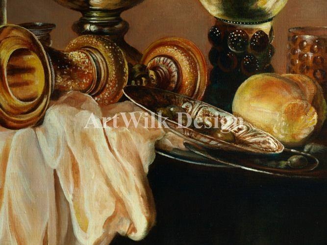 """""""Śniadanie z krabem"""" wg. Willem Claes Heda - Artwilk"""