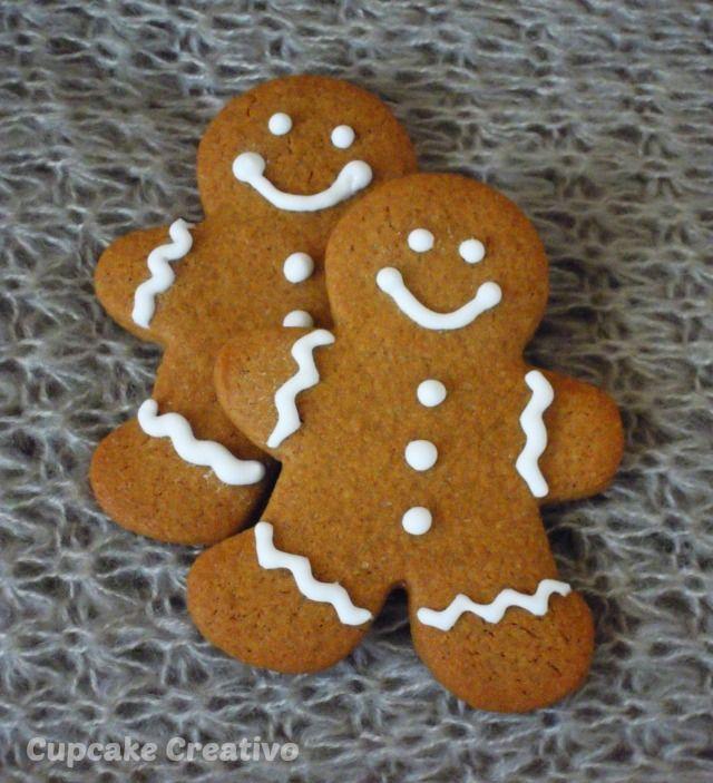 Cupcake Creativo: Galletas de Jengibre (Navidad)
