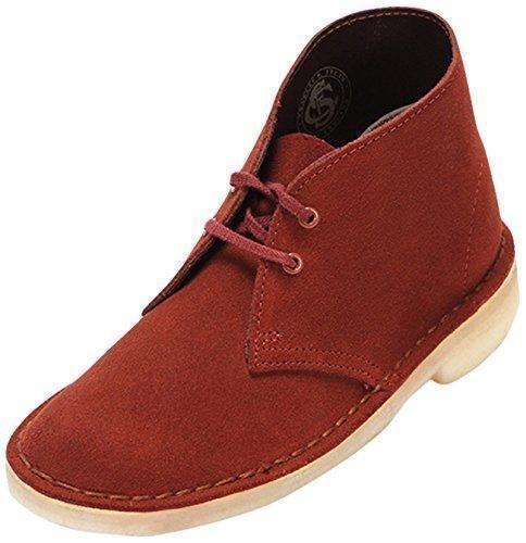 Oferta: 130€ Dto: -37%. Comprar Ofertas de Clarks Desert Boot - Zapatos Derby para mujer, color terracotta suede, talla 38 barato. ¡Mira las ofertas!