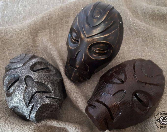 Inspired Dragon Priest Mask Skyrim, Handmade Prop Replica The Elder Scrolls V: Skyrim, Wooden Mask, Morokei,  Krosis, Halloween costume.