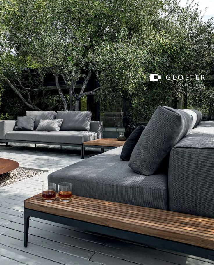 Gloster Is A Worldwide Leaders In Teak, Aluminum, Stainless Steel And Now  Outdoor Lounge