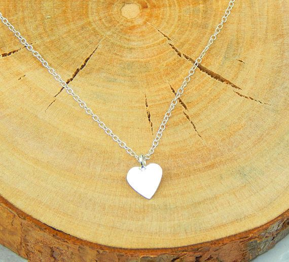 Silver Heart NecklaceSterling Silver Heart NecklaceSterling