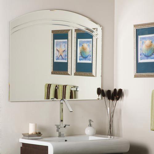 Angel Large Frameless Mirror Decor Wonderland Frameless Mirrors Home Decor