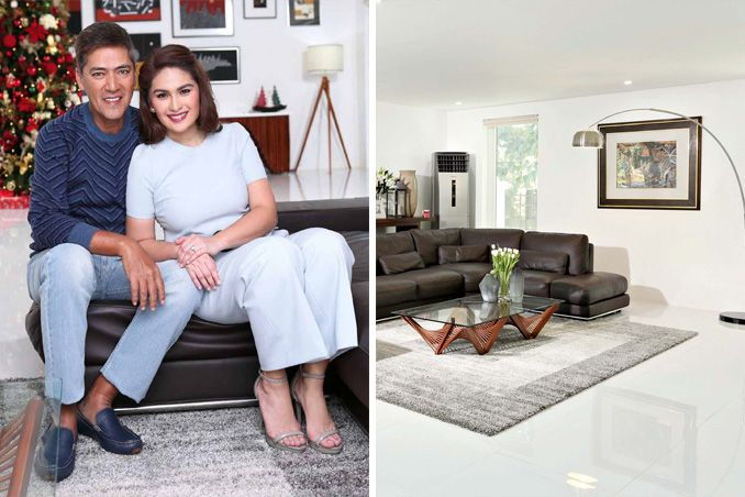 Get the Look of Vic Sotto and Pauleen Luna's Inviting Living Area