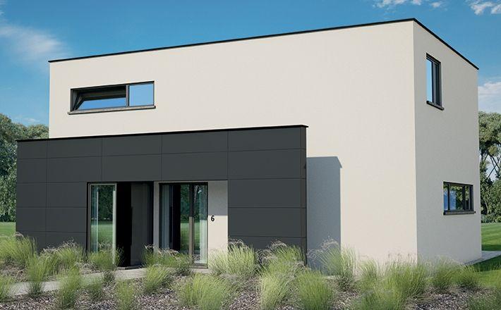 Bl510 woningen blavier sleutel op de deur woning bouwen 4slp 175 93m - Moderne huis op een helling ...